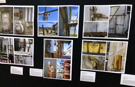 Student's photography on display at the 2018 Visual Art exhibition