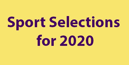 Image with title Sport Selections for 2020