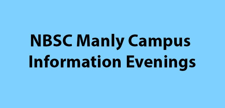 Heading Banner - NBSC Manly Campus Information Evenings